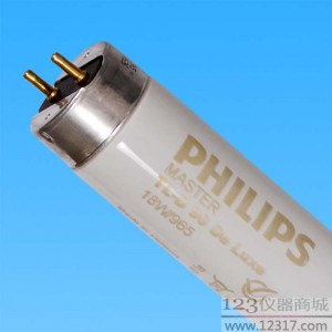 D65灯管 PHILIPS TLD18W/965 MADE IN HOLLAND 60cm
